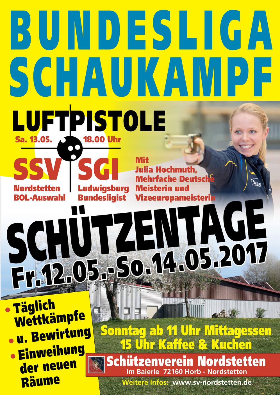 Plakat Schützentage