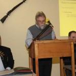 Redner auf der Hauptversammlung 2013