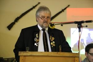 Stefan Blank bei der Eröffnung der Hauptversammlung 2014